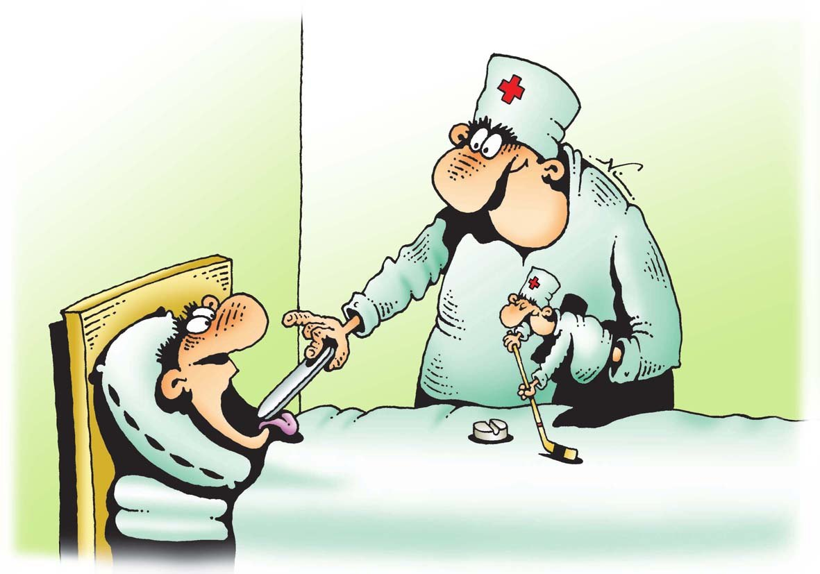 Хоккей для медиков